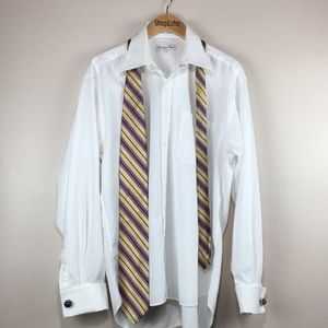 Christian Dior Chemise French Cuff Dress Shirt.